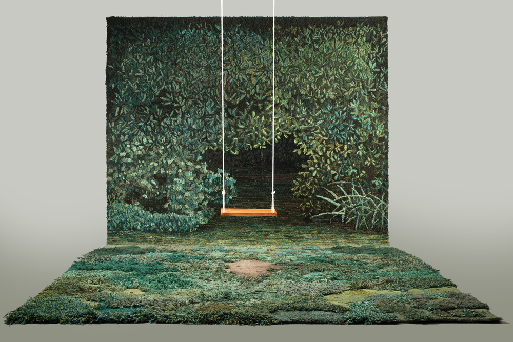 Nice Topographical Wool Carpets By Argentinian Artist Alexandra Kehayoglou