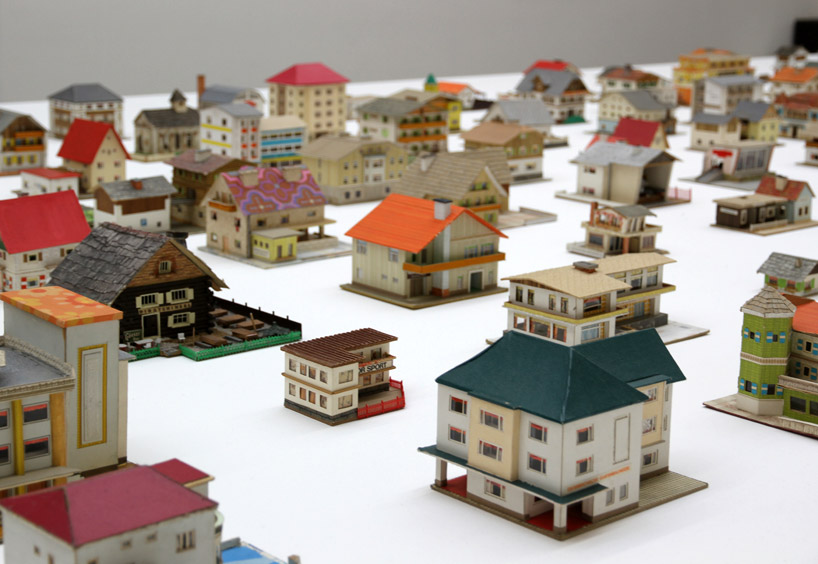 peter fritz s 387 model houses unearthed in a junk shop 20 years