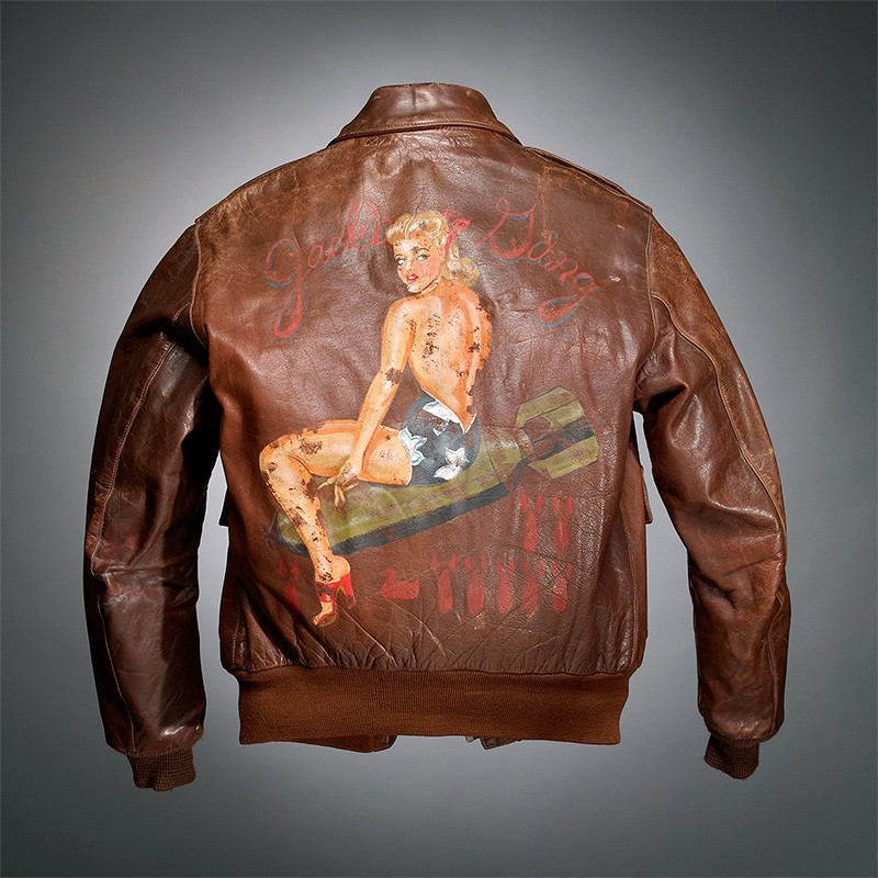 World War II's painted jackets show an artistic outlet during ...