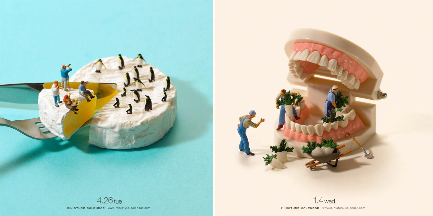Tanaka Tatsuya S Miniature Calendar Will Have You